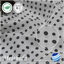 55% algodón 45% tela de popelina de poliéster impresa para shirting molino