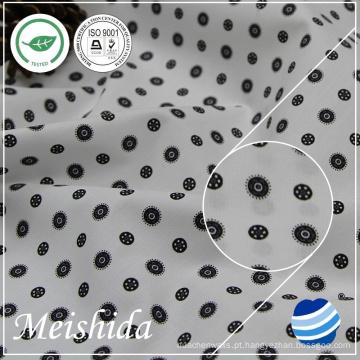 55% algodão 45% poliéster poplin tecido impresso para shirting mill