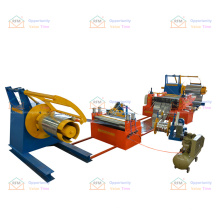 Factory supply metal steel equipment for sheet slitting machine line with decoiler and recoiler