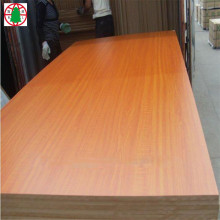 wood grain melamine  Mdf shandong facotory customized