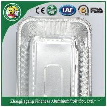 Niedriger Preis Meistverkaufte Aluminiumfolie-Behälter-Platten