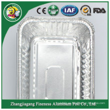 Bandejas de envases de papel de aluminio más vendidas de bajo precio