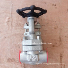 API602 Forged Stainless Steel F316L Thread End NPT Gate Valve