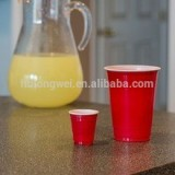 16oz disposable plastic red party cup for beer water beverage juice