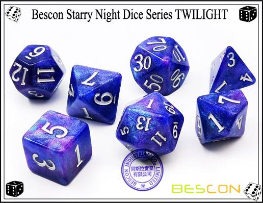 Starry Night Dice-14
