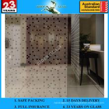 3-6мм АМ-73 декоративное Кисловочное Травленое матовое художественного архитектурного зеркало