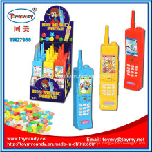 Plastic Big Music Phone Toy Candy for Child