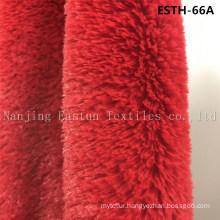 PV Plush/ Polyboa / Tricot Velboa / Warp Knit Boa Esth-66A