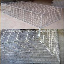 Coated Gabion Basket/gabion Box/gabion Stone Box Hot Sale Galvanized and Pvc Welded Mesh Flood Control Retaining Wall Cages 4mm
