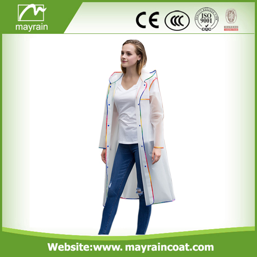 Mayrain Long PVC Outdoor Jackets
