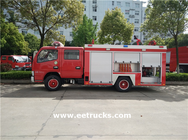 Dongfeng Water Tanker Fire Trucks