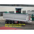3 axles 40ton tipper dump semi trailer