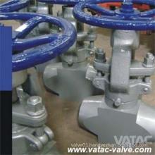 Handwheel OS&Y Butt Welded High Pressure Globe Valve