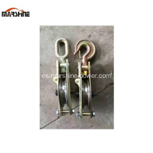 Cable Pulling Polea Industrial Snatch Block