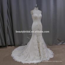 К506 великолепный благородный русалка свадебное платье