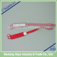 Bracelets jetables médicaux imperméables jetables d'identification