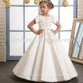 Broderie de satin fée robe de demoiselle d'honneur de la boutique des enfants élégants de haute qualité