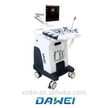 Doppler vasculaire de chariot et échographie doppler de couleur prix DW-C80