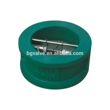Válvula de retención de disco doble de válvula de mariposa serie BGH77X