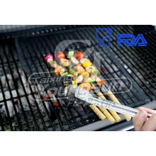 Supply for Non-Stick Oven Basket High Quality Food Grade Non-stick BBQ Grill Mesh supply to Moldova Manufacturers