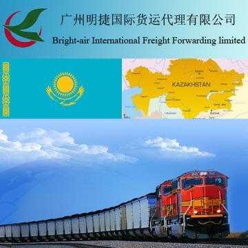 Transport ferroviaire standard transportant le transport ferroviaire standard par le train au Kasakhstan en provenance de Chine