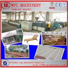 Линия производства деревянных пластиковых композитных материалов / полипропиленовая пластиковая композитная производственная линия