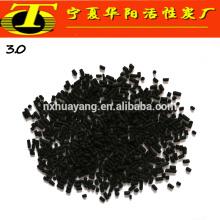 3мм гранулы активированного угля завод уголь