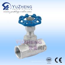 Usine manuelle de valve de globe de vis