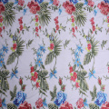 Delikatny Multicolor Print Chinoiserie Embroidery Fabric