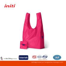 2016 Fábrica de venda de alta qualidade baratos Nylon saco de compras dobrável