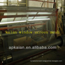 hebei anping KAIAN 34gauge aluminum fine mesh window screen