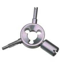 4-way large-bore valve repair tool Tire Valve Tool