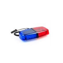Série DC12v rouge et bleue Mini Lightbar / barre de lumière de police 24W pour les voitures en vente dans les accessoires de voiture alibaba