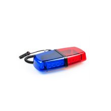 DC12v Red and Blue Mini Lightbar series / police light bar 24W for cars sale in alibaba car accessories