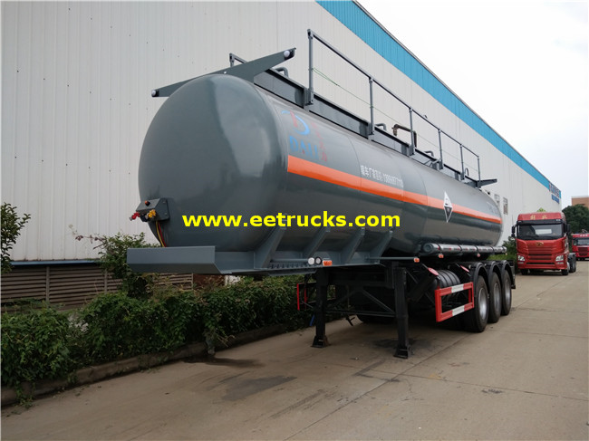 Tri-axle Hydrochloric Acid Transport Trailers