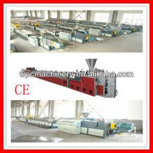 Wood floor panel making machine/wood plastic floor machine/pvc floor tile machine