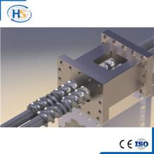 Tornillo y barril para máquina extrusora de plástico / elemento de tornillo