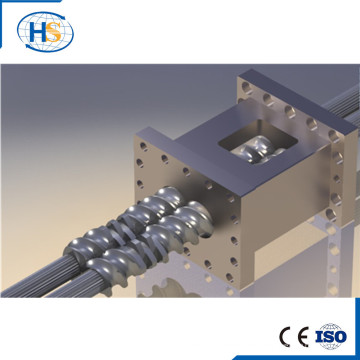 Screw Barrel and Element for Extrusion Machine