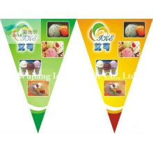 100% Polyester Pennant Flags/Advertising Banners