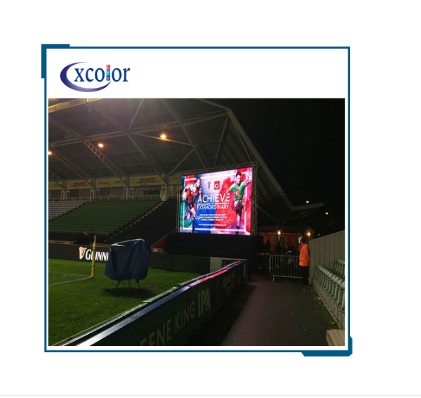 Display a LED per partite a cricket dal vivo