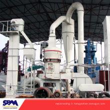 Célèbre rectifieuse de clinker de gypse de marque de SBM, moulin de moulin de poudre minérale