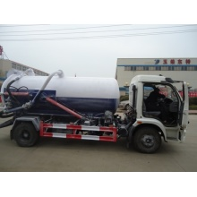 Customized for Vacuum Sewage Suction Tanker 8000Liter Septic Suction Tanker Trucks Sucking Sewage Truck export to Georgia Factories