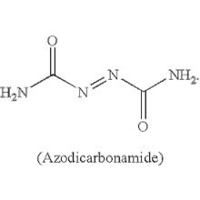 folha de msodas de azodicarbonamida