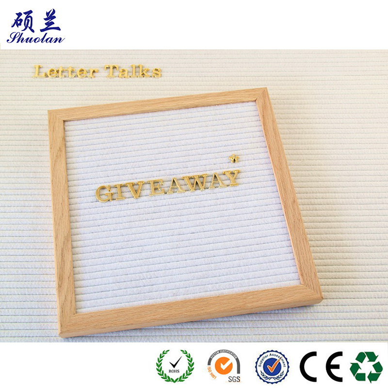 Hot Sale Felt Latter Board