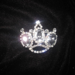Wholesale Crystal Sash Pins