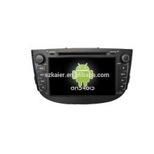 Quad core! Dvd do carro com ligação espelho / DVR / TPMS / OBD2 para 8 polegada tela sensível ao toque quad core 4.4 Android sistema LIFAN X60