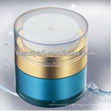 15ml 30ml 50ml Bule Acrylic Airless Jar