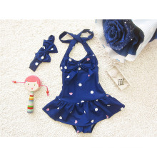 Blue Little Girls Fashion Bikini Swimwear