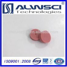 Rojo 11 * 3mm Pre-perforado de alta temperatura GC Septa