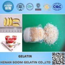 Vente chaude en poudre de gélatine alimentaire 220 granules de glaçure / gélatine à bas prix